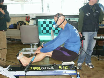 "PRONTO PER IL TEST AL ""PADDLE SIMULATOR DS"""